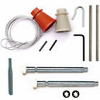 Cardale, Wessex, CD45 Garage Door Spares Cones Cables Roller Spindles Repair Kit