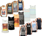 JACK & JONES - MENS & BOYS VESTS, TANKS & SLEEVELESS TOPS - J&J CORE & ORIGINAL