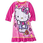 Hello Kitty girls night gown Size XSmall 4-5 Small 6-7 Medium 8-10 NWT