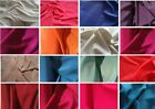 High quality Polyester crepe fabric, various colours, £4.99 per metre 1.50m wide