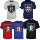 MENS LAMBRETTA TSHIRT CREW NECK  IN 6 COLOURS BLACK NAVY RED ALL SIZES S TO 6XL