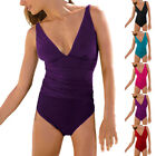 V-Neck Two Pieces Beach Swimsuit Swimwear Bather with Cover Up skirt sw1002