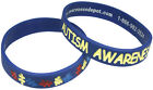 ALL COLORS Autism Awareness Puzzle Pieces Wristband Silicone Fundraising CHS SZ