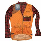 HUNTER - OFFICIAL MENS CYCLING JERSEY (SHIRT) - SMALL (S)