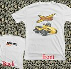New Motor Can Am BRP X TEAM SPYDER RACING LOGO  White T Shirt All Size