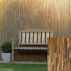 2m tall x 3m Split Bamboo screening - for gardens, windbreaks, balconies
