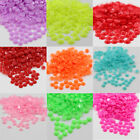 1000 x GLUE ON 4mm FACETED FLATBACK ACRYLIC RHINESTONES CRAFTS NAILART SCRAPBOOK