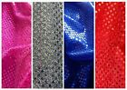 Sequins sparkly dress fabric, choice of 4 colours @ £4.10/m 1 metre wide