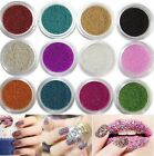 10 Colors Caviar Beads Pearls For 3D UV Gel Nail Art Tips Decoration Design