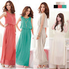 Hot New Summer Women Bohemia Chiffon Evening Party Beach Casual Maxi Long Dress