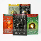 Juego de Tronos SPANISH Game Of Thrones Series by George RR Martin Books 1-5