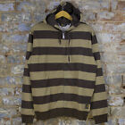 Carhartt Hooded Chill Block Stripe Zip-Up Jacket/Hoodie New - Tobacco Size: S/L