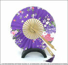 *100% NEW ARRIVAL* WINDMILL CIRCLE 360 DEGREES FOLDED SATIN COTTON HAND FAN