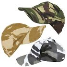 Kombat Kids Childrens Camo Baseball Cap Army Soldier Hat Fancy Dress Costume
