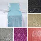 """10 pcs SEQUIN TABLE RUNNERS 12x108"""" Sparkly Wedding Party Catering Event Linens"""