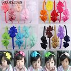 New Style Grosgrain Ribbon Hair Headband Boutique Bow Aliceband