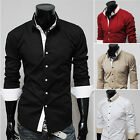 Burst Sells Men's Luxury Multi Colors PJ Button Front JS Tops Casual Shirts