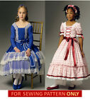 SEWING PATTERN! MAKE CIVIL WAR ERA CHILD COSTUME!  DRESSES LIKE ADDY~MARIE GRACE
