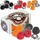 """INDEPENDENT """"Truck Bushings"""" Skateboard Low or Standard Soft Med Hard Cushions"""