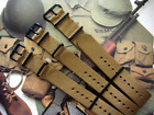 NATO G10 Khaki Brown Nylon Military Army PVD watch band strap IW SUISSE 18 20 22 image