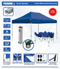 Eurmax Canopy 10'x15' PREMIUM Heavy Duty Ez Pop Up Canopy tent with Roller Bag