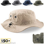 Cargo Bucket Hat Toggle Sailing Fishing Sun UVF50+ Protection Ladies Mens Boonie