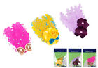 Bundle Monster 3pc Fancy Style Baby Girls Feather Cotton Hair Headbands Mix Lot