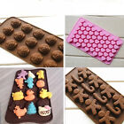 New Chocolate Cake Cookie Candy Jelly Ice Baking Silicone Mould Mold Bakeware