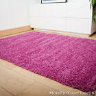 Pink Thick Shaggy Rug, Thick Pile, Soft Touch, Great Quality, Cheap Price