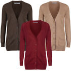 Marks & Spencer Womens Fine Knit Long Cotton & Cashmere Cardigan M&S Cardie Top