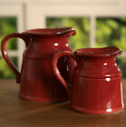 Rustic Decor Jugs Provincial Vase Home Decor Gift Brand New 3 Colours Available