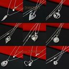 Wholesale Solid Sterling 925Silver Jewelry Pendant Necklace Chain ring earrings