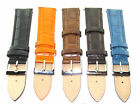 21MM LEATHER WATCH STRAP BAND FOR CERTINA DS PODIUM BLACK, BROWN, BLUE, ORANGE