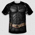New The Dark Knight Batman Costume All Over Front Sublimation Youth T-shirt Top
