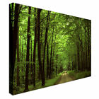 Landscape art chocolate forest road Canvas Wall Art Print Large + Any Size