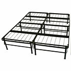 Durabed Steel Metal No Box Spring Needed Heavy Duty Platform Bed Frame Pick Size