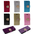 Fashion PU Leather Shimmer Flip Case Stand Cover Case Skins For iPhone 5 5S