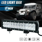 12inch 72W Cree Led Work Light Bar Flood Spot Suv Boat Driving Lamp Offroad 4WD