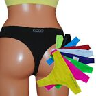 6 oder 12 STÜCK MICROFASER STRING TANGA ★V★A★ FARBENMIX one SIZE 36 38 40 42
