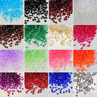 100x 10mm Acrylic Crystal Diamond Confetti Table Scatters Clear Vase Fillers