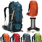 Men's outdoor sport travel camping backpack hiking mountaineering waterproof 50L