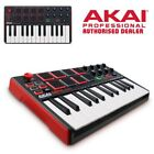 Akai MPK Mini Mk2 - MIDI USB Controller Keyboard - MPKMINI MkII *New Version*
