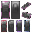 Apple iPhone 6 Hybrid Cover Rhino Armor Holster Clip Phone Case Stand