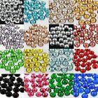1000 x GLUE ON FLAT BACK 5mm RHINESTONE CRYSTAL CRAFTS SCRAPBOOK  GEMS NAIL ART