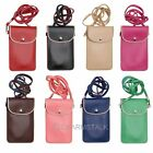 PU Leather Wallet Purse Shoulder Bag Phones Case For Samsung S5/S4/S3 iPhone4/5S