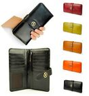 Vintage Genuine Real Leather Bifold Wallet Clutch Credit Card Holder Purse Coin
