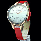 Colorful Big Unique Face Small Band Women Lady Precise Wrist Watch Wholesales
