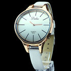 Women Lady Precise Wrist Watch Colorful Big Unique Face Small Band Wholesales