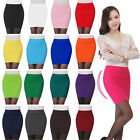1X Elegant Women's Knitted Drape Skirt High Waist Elastic Mini Dress Hot Sale!