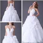 2014 Charme Wedding Bridal Formal Evening Party Quinceanera Ball Gown Prom Dress